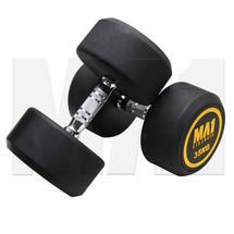 MA1 Commercial Rubber Dumbbells - 35kg