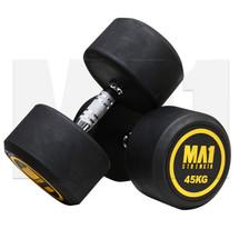 MA1 Commercial Rubber Dumbbells - 45kg