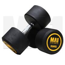 MA1 Commercial Rubber Dumbbells - 50kg