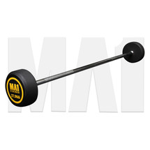 MA1 Fixed Rubber Barbell 27.5kg (MA-FRBB-27.5)
