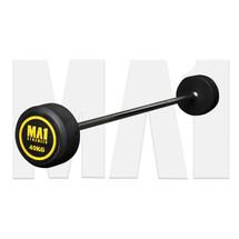 MA1 Fixed Rubber Barbell 40kg (MA-FRBB-40)