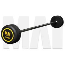 MA1 Fixed Rubber Barbell 42.5kg (MA-FRBB-42.5)