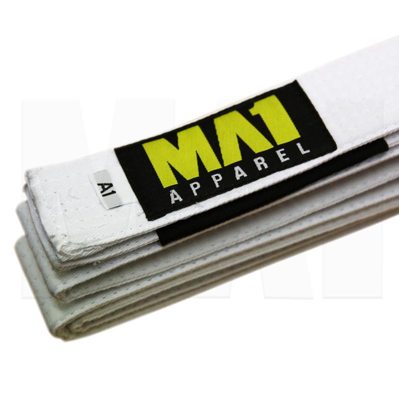 MA1 Adult BJJ Belts - White