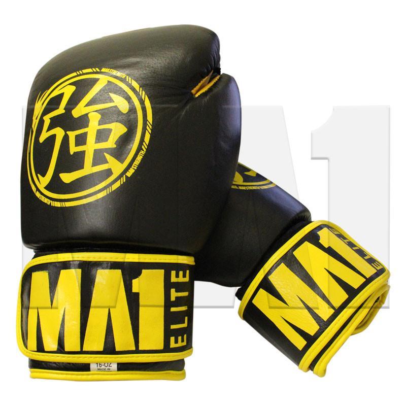 MA1 Elite Leather 16oz Gloves