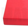 Rectangle MMA Mat - Red - Close Up