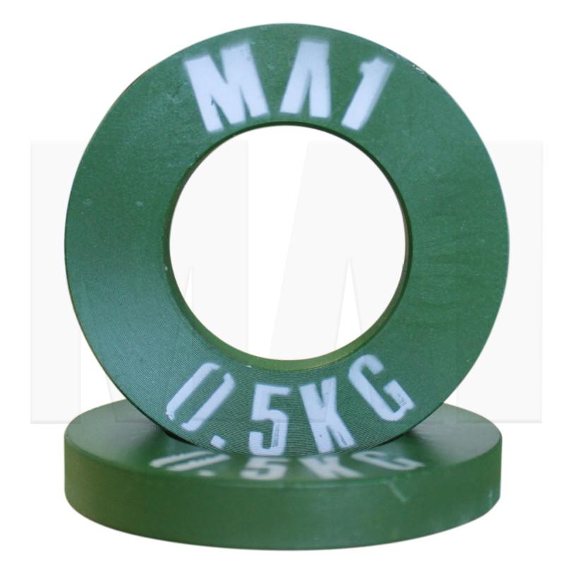 MA1 Olympic Pro Steel Plate - 0.5kg