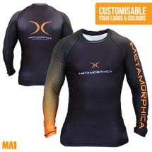 Metamorphica MMA  | MA1 Custom Rash Guards Australia