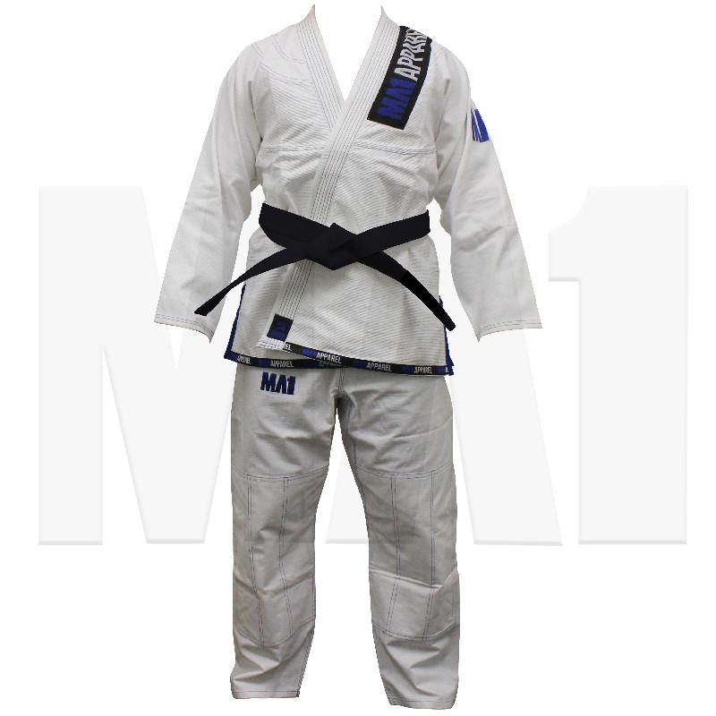 MA1 Club White and Blue Kimono