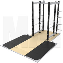 MA1 Athlete Series Power Rack with platform