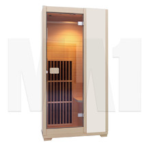 MA1 Infrared Sauna - 1 Man Capacity - Wooden
