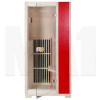 MA1 Infrared Sauna - 1 Man Capacity - Red - front