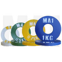 MA1 Olympic Pro Steel Plate 0.25, 0.5, 0.75 & 1kg X 2