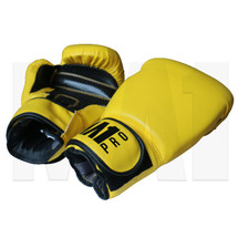 MA1 Pro Boxing Gloves - Yellow- 16oz _ Above