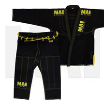 MA1 Ultra Light Kimono - Black/Yellow