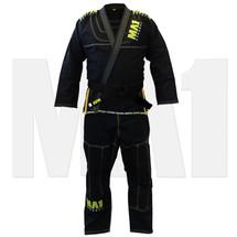 MA1 Ultra Light Kimono - Black (contrast stitching) - Main