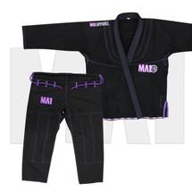 MA1 Premium Competition Series Kimono - Black/Purple