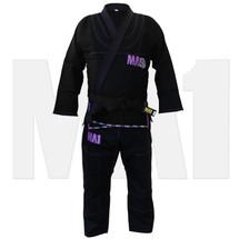 MA1 Premium Competition Series Kimono - Black/Purple - Main