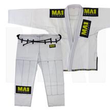 MA1 Ultra Light Gi - White (contrast stitching)