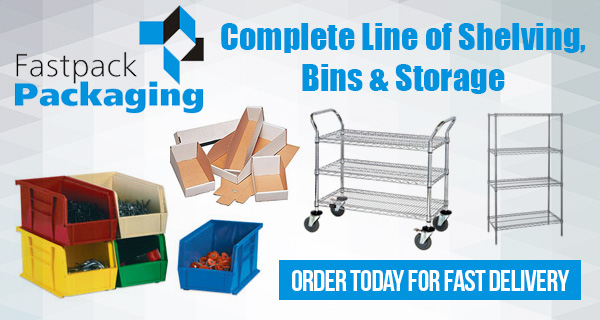 Shelving, Bins & Storage