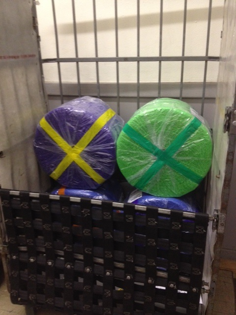 Color Bubble Wrap Rolls Shipping to customers that are branding through their packaging