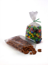 """2.5"""" X 1.25"""" x 7.5"""" Clear Gusseted Polypropylene Bags 1.5 mil"""