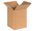 "6"" x 6"" x 8"" (200#/ECT-32) Kraft Corrugated Cardboard Shipping Boxes"