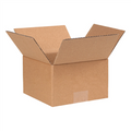 "7"" x 7"" x 4"" Corrugated Cardboard Shipping Boxes 25/Bundle"