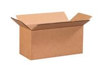 "9"" x 4"" x 4"" (200#/ECT-32) Long Kraft Corrugated Cardboard Shipping Boxes"