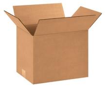 "12 1/4"" x 9 1/4"" x 9"" (200#/ECT-32) Kraft Corrugated Cardboard Shipping Boxes"