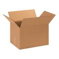 "13 3/4"" x 10 1/4"" x 9 1/8"" Corrugated Cardboard Shipping Boxes 25/Bundle"
