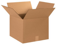 "15"" x 15"" x 12"" (200#/ECT-32) Kraft Corrugated Cardboard Shipping Boxes"