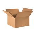 "16"" x 16"" x 9"" Corrugated Cardboard Shipping Boxes 25/Bundle"