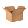 "16"" x 16"" x 10"" Corrugated Cardboard Shipping Boxes 25/Bundle"