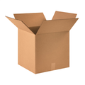 "16"" x 16"" x 15"" Corrugated Cardboard Shipping Boxes 25/Bundle"
