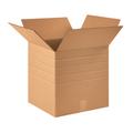 "16"" x 16"" x 16"" Multi-Depth Corrugated Cardboard Shipping Boxes 10/Bundle"