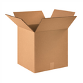 "16"" x 16"" x 16"" Double Wall Corrugated Cardboard Shipping Boxes 15/Bundle"