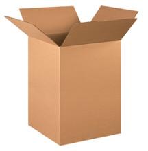 "16"" x 16"" x 24"" (200#/ECT-32) Kraft Corrugated Cardboard Shipping Boxes"
