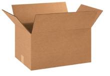 "18"" x 12"" x 10"" (200#/ECT-32) Kraft Corrugated Cardboard Shipping Boxes"