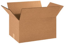 "18"" x 12"" x 10"" (275#DW/ECT-48) Heavy-Duty Double Wall Kraft Corrugated Cardboard Shipping Boxes"