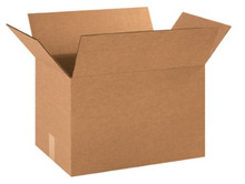 "18"" x 12"" x 12"" (200#/ECT-32) Kraft Corrugated Cardboard Shipping Boxes"
