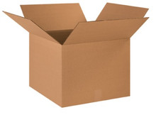 "18"" x 18"" x 14"" (200#/ECT-32) Kraft Corrugated Cardboard Shipping Boxes"