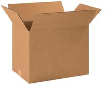 "18 1/2"" x 12 1/2"" x 14"" (200#/ECT-32) Kraft Corrugated Cardboard Shipping Boxes"
