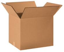 "20"" x 16"" x 16"" (275#DW/ECT-48) Heavy-Duty Double Wall Kraft Corrugated Cardboard Shipping Boxes"