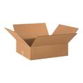 "20"" x 18"" x 6"" Flat Corrugated Cardboard Shipping Boxes 25/Bundle"