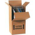 "24"" x 20"" x 46""  Wardrobe Packing Boxes 5/Bundle"