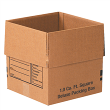 "12"" x 12"" x 12"" Deluxe Packing Boxes 25/Bundle"