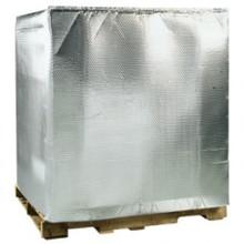 """48"""" x 40"""" x 48"""" Cool Shield Bubble Pallet Cover 5/Case"""