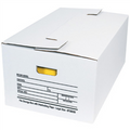 "24"" x 15"" x 10"" Interlocking Flap File Storage Boxes 12/Bundle"