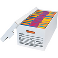 """24"""" x 12"""" x 10"""" Deluxe File Storage Boxes, Designed for letter size files."""