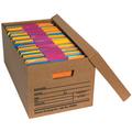 """24"""" x 12"""" x 10"""" Economy File Storage Boxes 12/Bundle"""